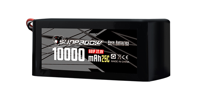 10000mAh 22.8V UVA Lipo Battery
