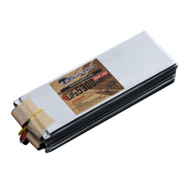 5300mAh rc Boot Lipo Batterie